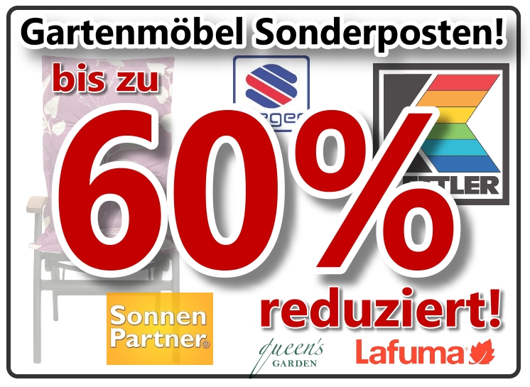 crazy sale gartenmbel zu sonderpreisen bis zu 60 reduziert blog wwwgongoll shopde - Lounge Gartenmobel Reduziert
