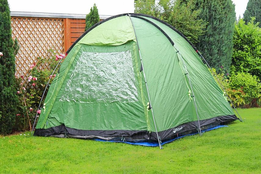 Im Zelt Vor Blitz Geschützt : Zelte aufbauen ganz easy zum beispiel das outwell