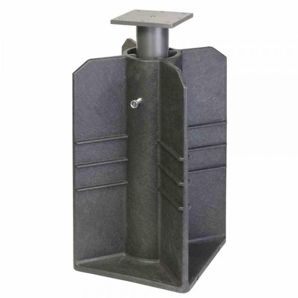 Platinum Bodenständer für Ampelschirme - Montage ohne Beton