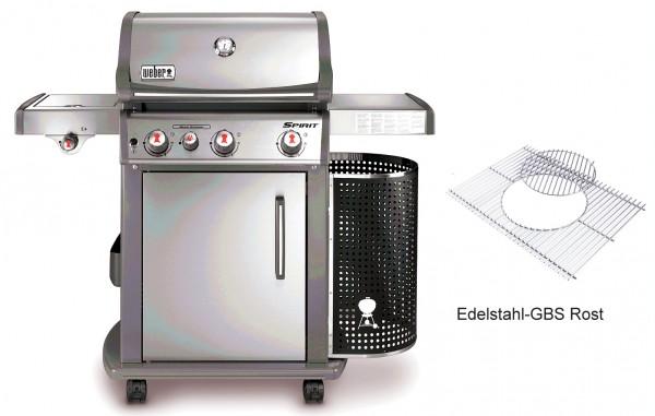 Weber Gasgrill Spirit S 330 GBS Premium Edelstahl (46803579)