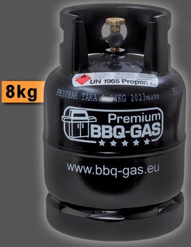 BBQ Gasflasche leer - Füllkapazität 8kg (ohne Füllung)