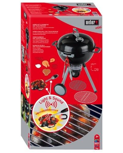 Klein Toys Weber Kugelgrill One Touch Premium mit Licht und Sound 9401