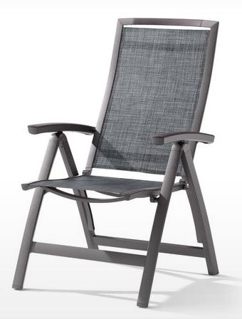 sieger trento multipossitions sessel eisengrau 331 g sg sieger trento sieger gartenm bel. Black Bedroom Furniture Sets. Home Design Ideas