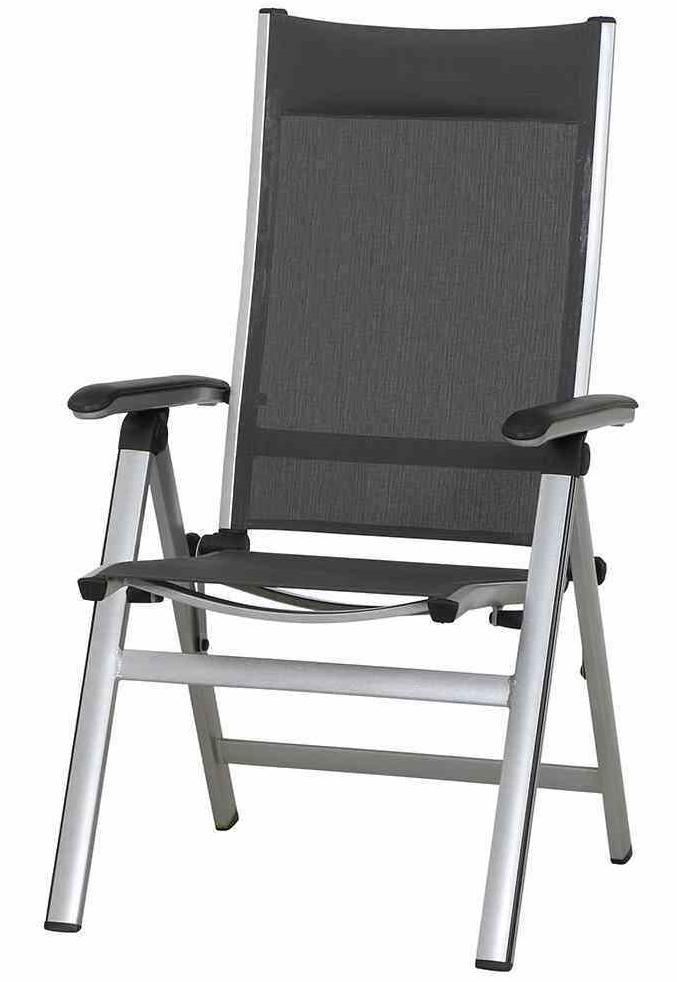 mwh klappsessel core silber grau 359987 mwh gartenm bel. Black Bedroom Furniture Sets. Home Design Ideas