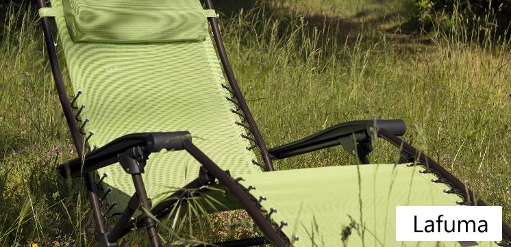 lafuma gartenm bel f r besonders hohen komfort tolle. Black Bedroom Furniture Sets. Home Design Ideas