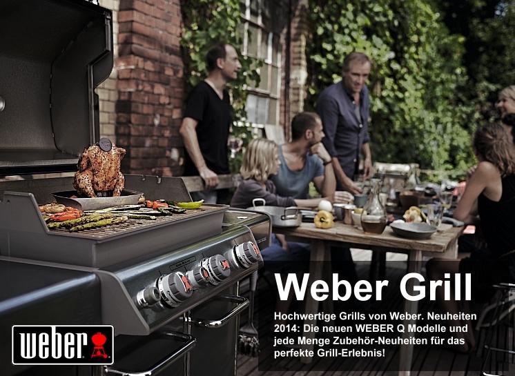 Weber Grillneuheiten 2014