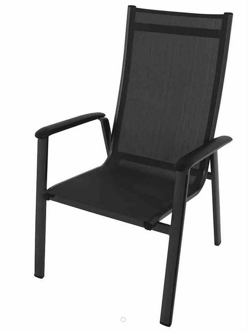 mwh stapelsessel core ii schwarz grau stapelsessel gartenm bel kategorien gartenm bel. Black Bedroom Furniture Sets. Home Design Ideas