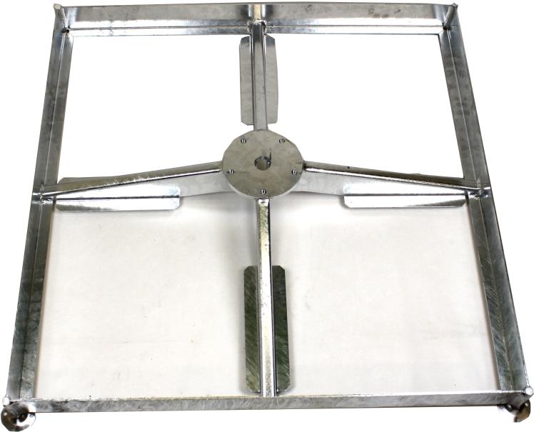 glatz sockel sombrano m4 120kg verzinkt glatz. Black Bedroom Furniture Sets. Home Design Ideas