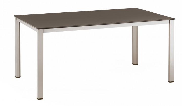 kettler lofttisch alu kettalux 160x95cm champagner mocca kettler tische kettler. Black Bedroom Furniture Sets. Home Design Ideas