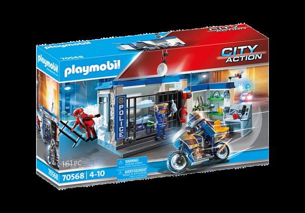 PLAYMOBIL® Polizei: Flucht aus dem Gefängnis 70568