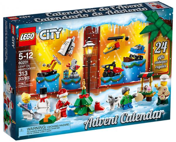 LEGO® City Adventskalender 2018 60201