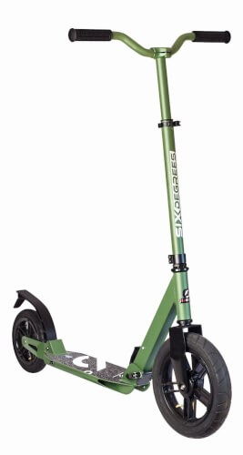 SixDegrees - Aluminiumscooter Air grün All Terrain 300mm 534