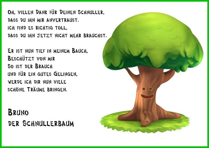 Schnuller-Baum-Karte-Gongoll-Dormagen-Gedicht-Rahmen