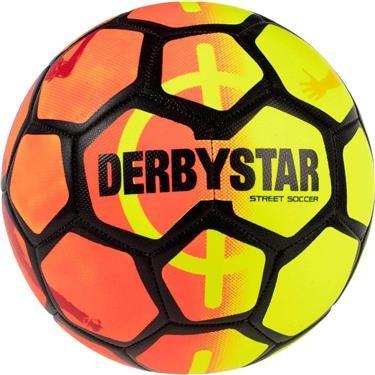 Derbystar Unisex – Street Fußball gelb / orange, Größe S 1535500752