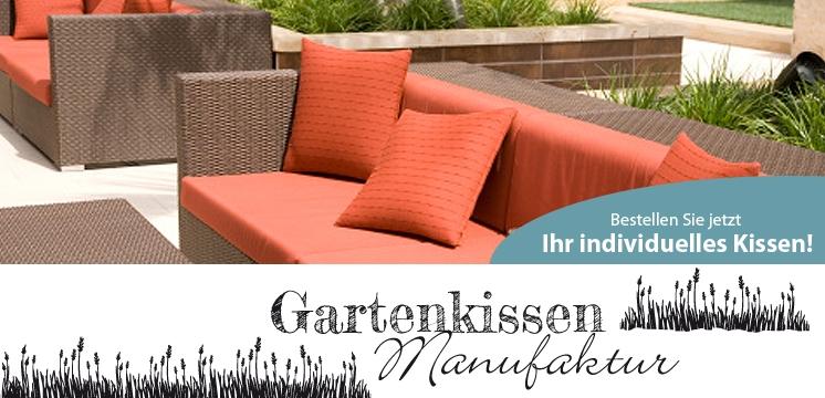 Gartenmöbel Auflagen nach Mass | www.gongoll-shop.de