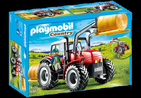 Playmobil riesentraktor mit spezialwerkzeug playmobil