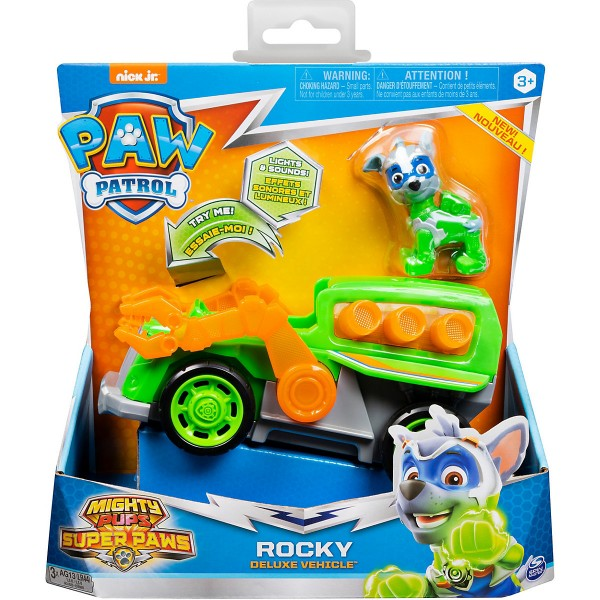 Paw Patrol Mighty Pups Super Paws Rocky 20115479
