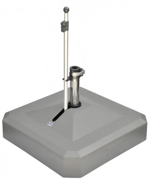 Liro Rollschirmständer Midi Plus 100kg Komfort anthrazit (100K-75-04)