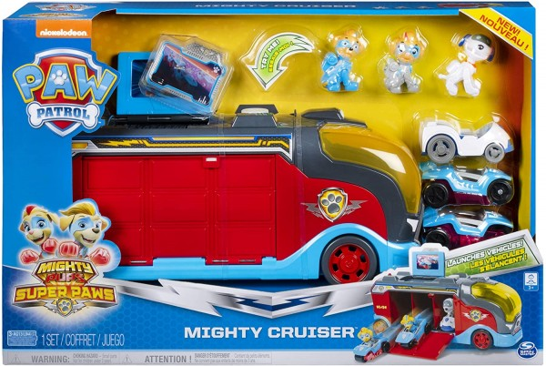 Paw Patrol Mighty Pups Super Paws Mighty Cruiser 6054649