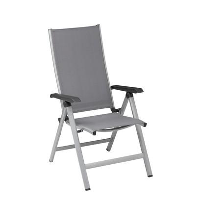 kettler multipositionssessel friends silber anthrazit 0310501 0000 klappsessel gartenm bel. Black Bedroom Furniture Sets. Home Design Ideas