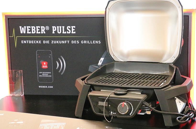 Weber Elektrogrill Inbetriebnahme : Aufbau und erster eindruck der neuen weber pulse elektrogrills