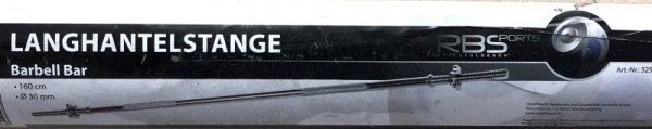 RBSports Langhantelstange 160cm 32515