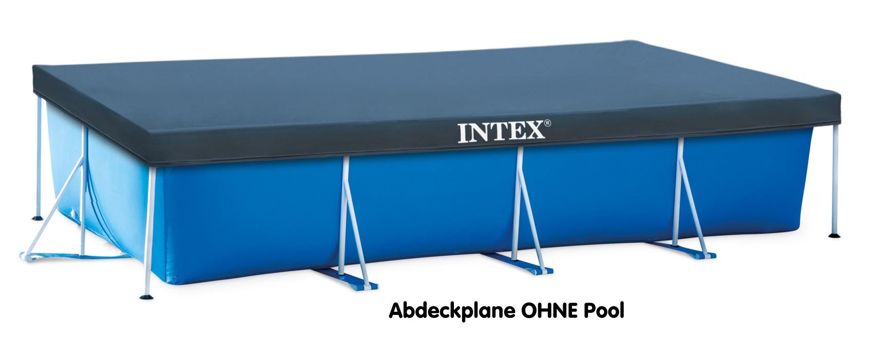 intex abdeckplane rechteckig 450x220cm 28039 zubeh r pools. Black Bedroom Furniture Sets. Home Design Ideas