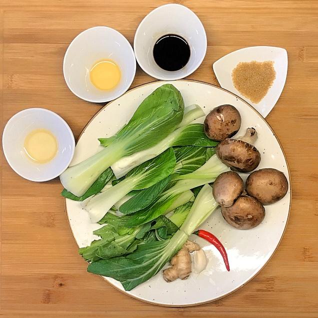Rezept-Pak-Choi-Champignons-Grillen-Asiatisch-Lecker