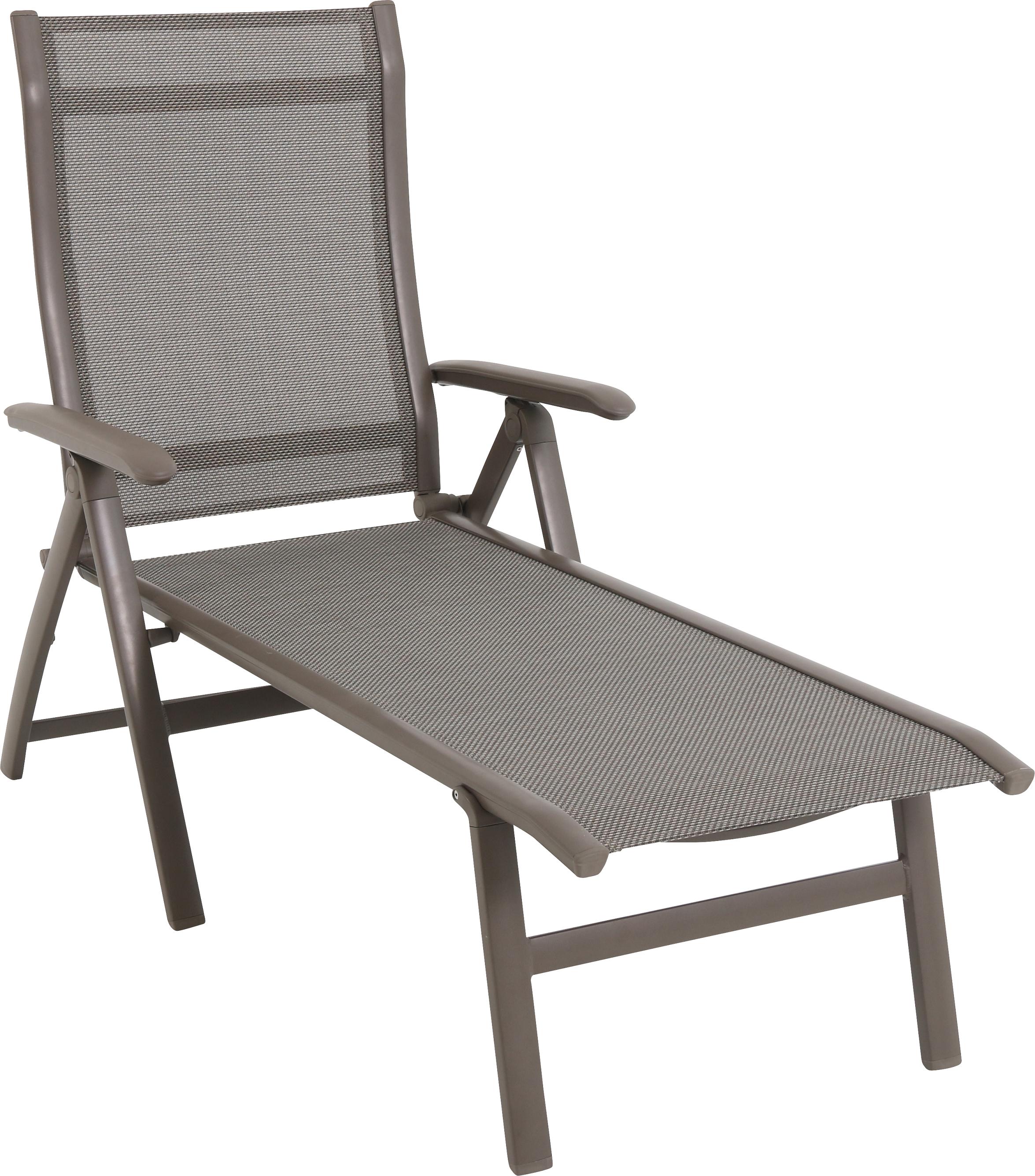 alu klappliege xxl komfort sonnenliege schwarz. Black Bedroom Furniture Sets. Home Design Ideas