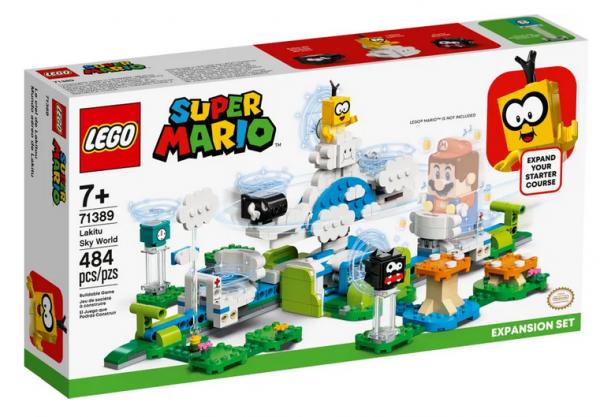 LEGO® Super Mario Lakitus Wolkenwelt – Erweiterungsset 71389