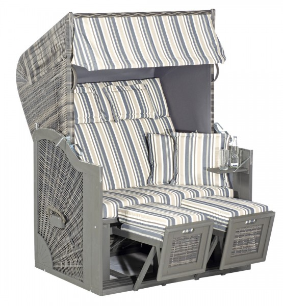 Strandkorb Rustikal 285Z Sun Edition - Design 1231