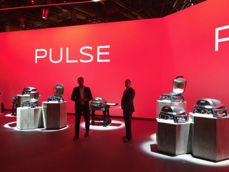 Weber Elektrogrill Pulse : Besuch und eindrücke der spoga 2017 u2013 gartenmöbel und grill