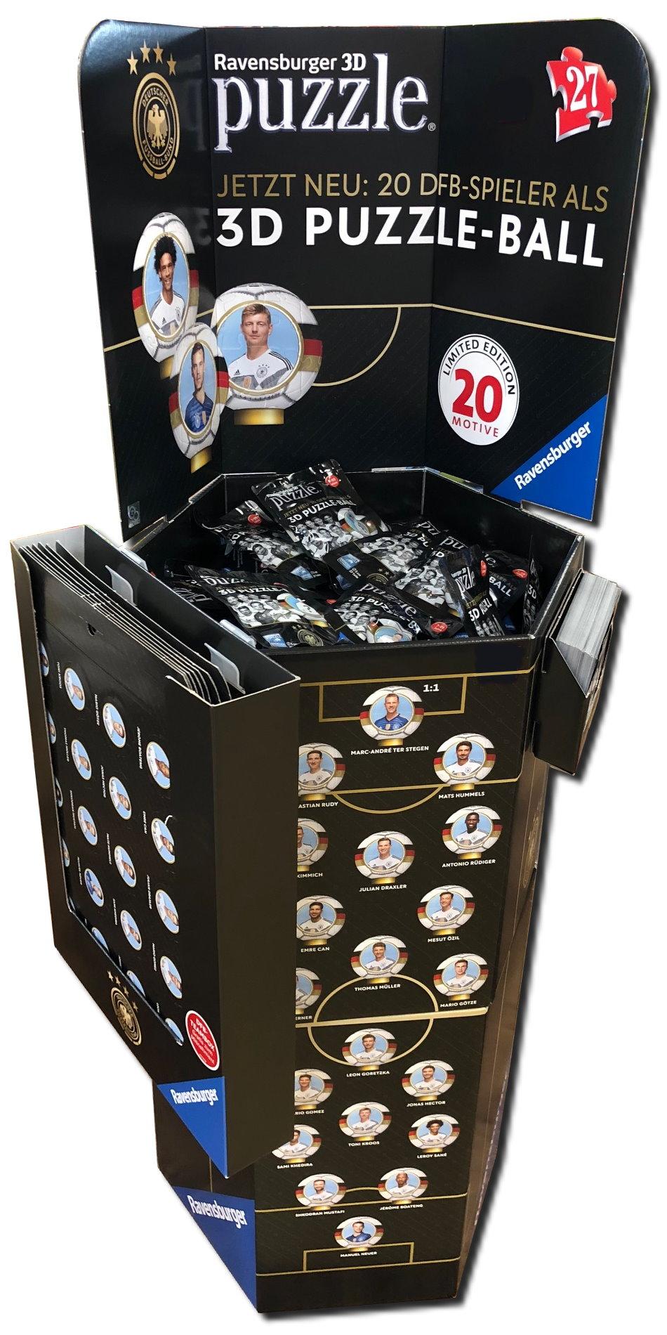 Passend Zur Diesjahrigen Fussball Wm Die 3d Puzzle Balle