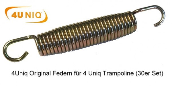 Ersatz-Federn für Trampoline - Set mit 27 Stück
