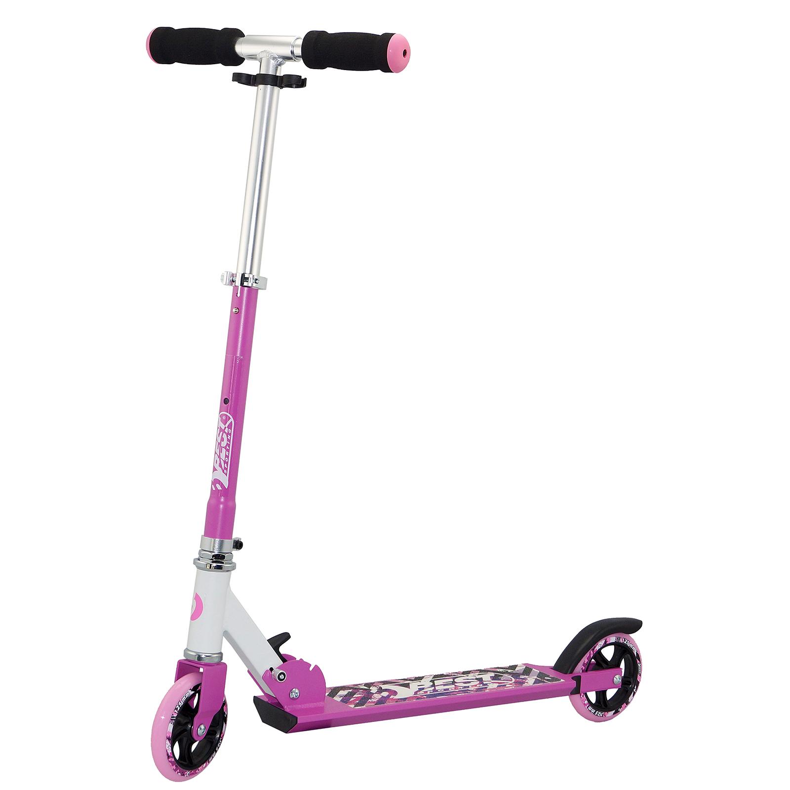 best sport kids scooter 125 wei pink 30402 roller scooter fahrzeuge. Black Bedroom Furniture Sets. Home Design Ideas