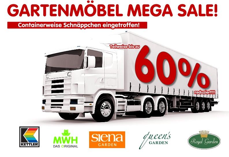 Gartenmöbel MEGA SALE – Containerweise hochwertige Marken ...