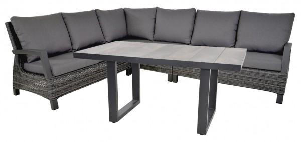 Loungegruppe Prato Forte mit Tisch Prato