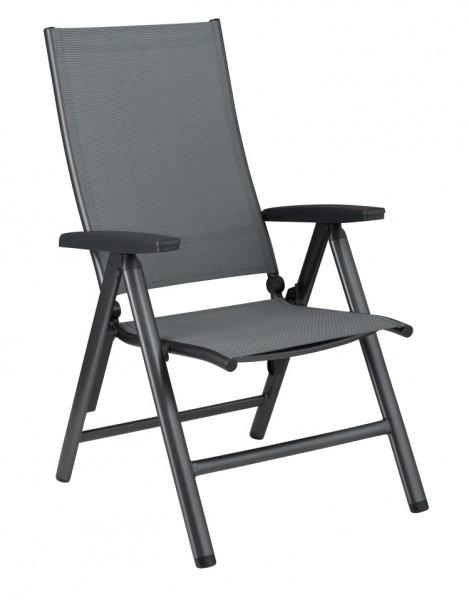 kettler cirrus multipositionssessel anthrazit 0100301 7100 klappsessel gartenm bel. Black Bedroom Furniture Sets. Home Design Ideas