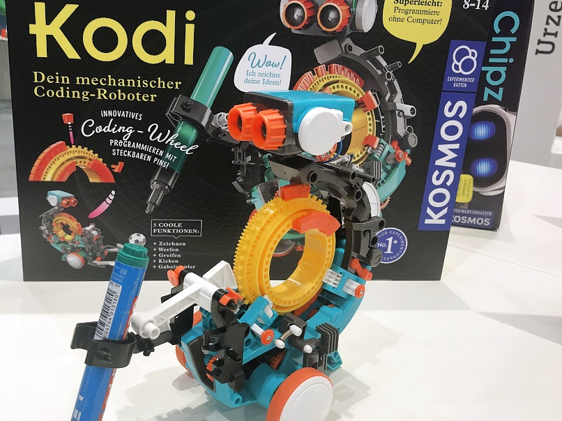 Kosmos-Kodi-Roboter-Neuheit-2019-Spielwarenmesse-2019