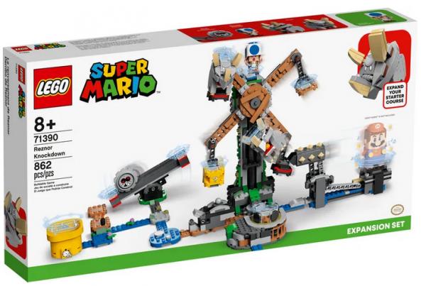 LEGO® Super Mario Reznors Absturz – Erweiterungsset 71390