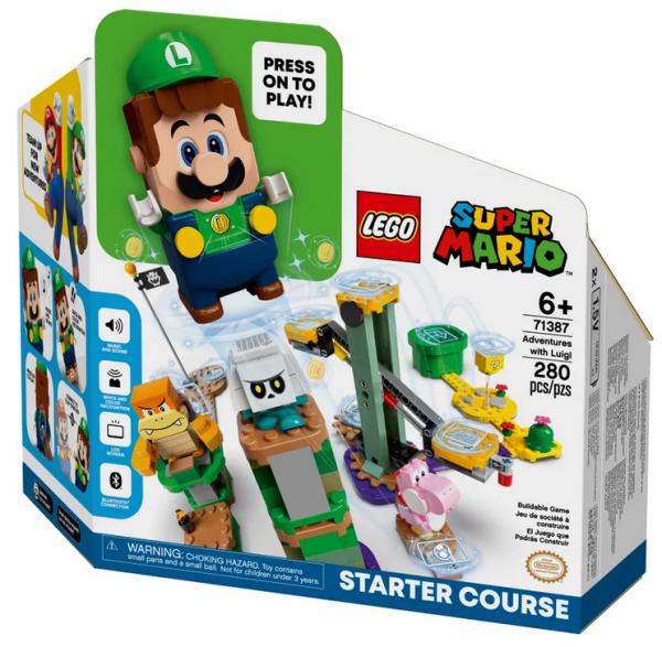 LEGO® Super Mario Abenteuer mit Luigi – Starterset 71387