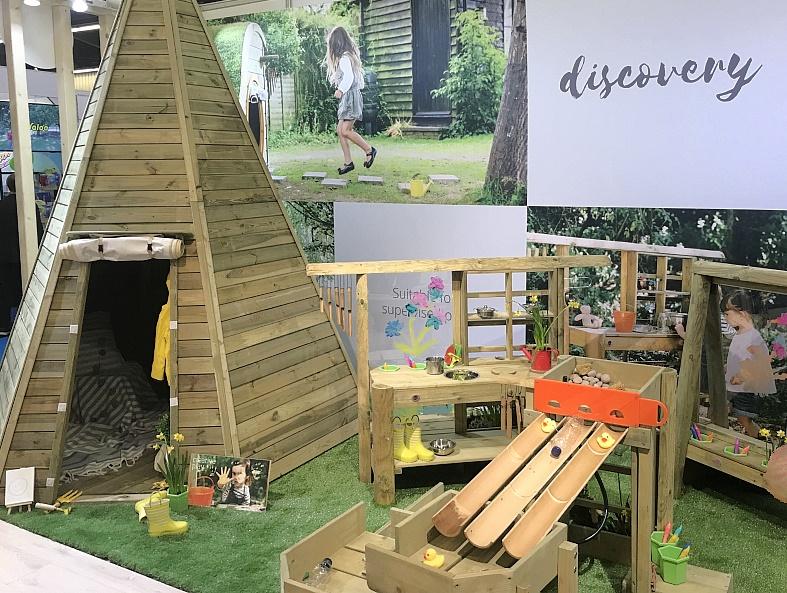 Plum-Spielger-te-Outdoor-Holz-Sand-Indianerzelt-Kletterger-st-Spielplatz-Angebote