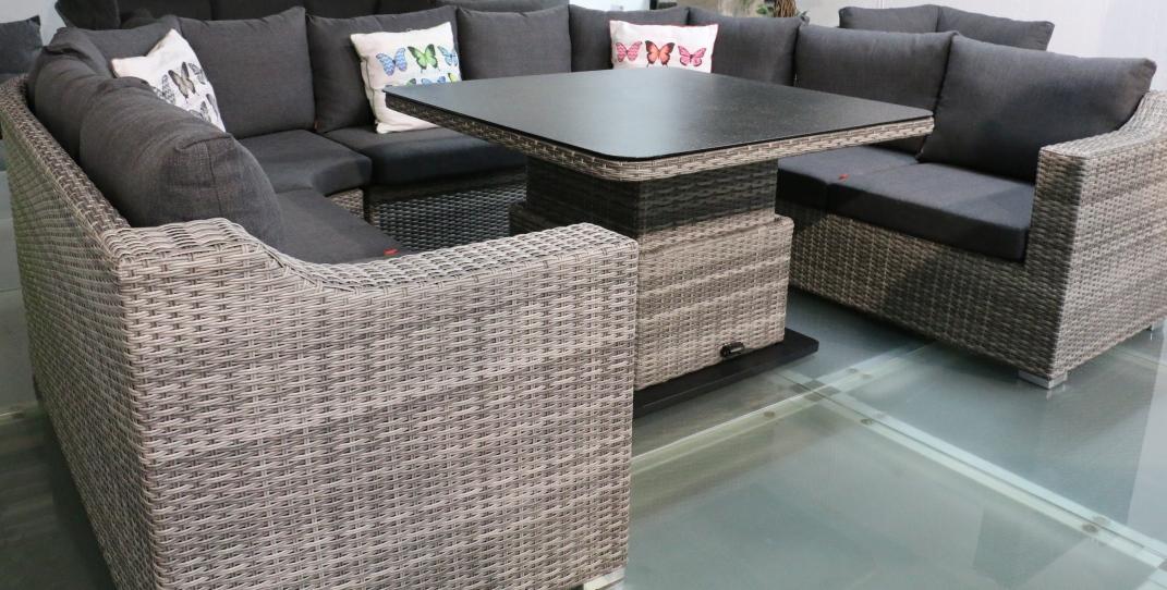 geflechtgruppe navaro inkl lifttisch 115x115cm siena garden gartenm bel. Black Bedroom Furniture Sets. Home Design Ideas