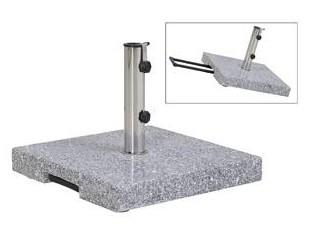 Sonnenschirmständer Granit 45kg mit Trolley (431526)