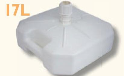 Kunststoff Sonnenschirmständer füllbar 17L