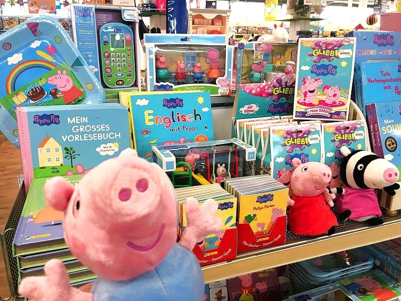 Peppa-Pig-Neuheiten-B-cher-Spielsachen-Glibbi-Lesen-Spielen-Figuren-Pl-sch