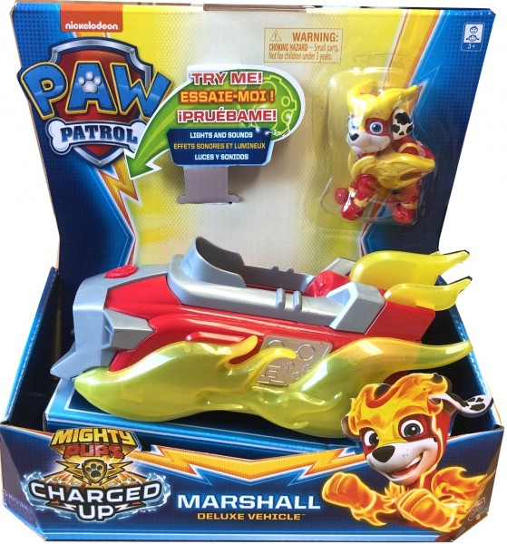 Paw Patrol Mighty Pups Charged Up Marshall Deluxe 20121273
