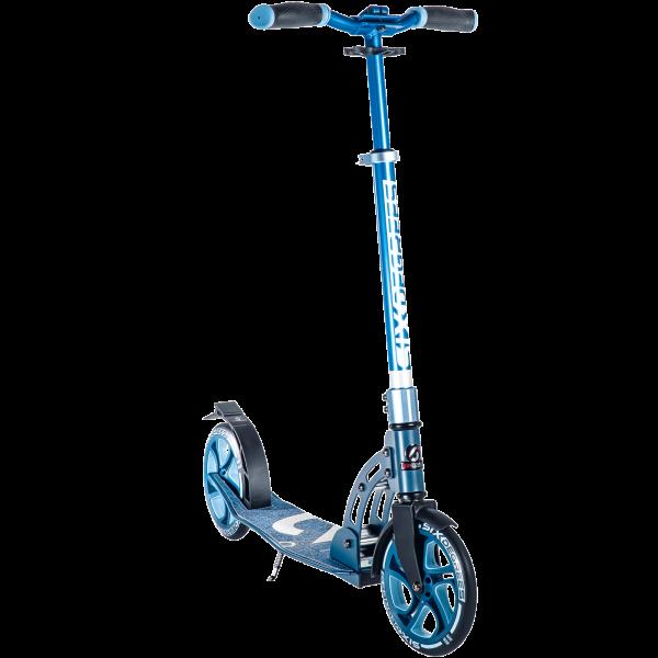 Six Degrees Alu Scooter blau 205mm 509