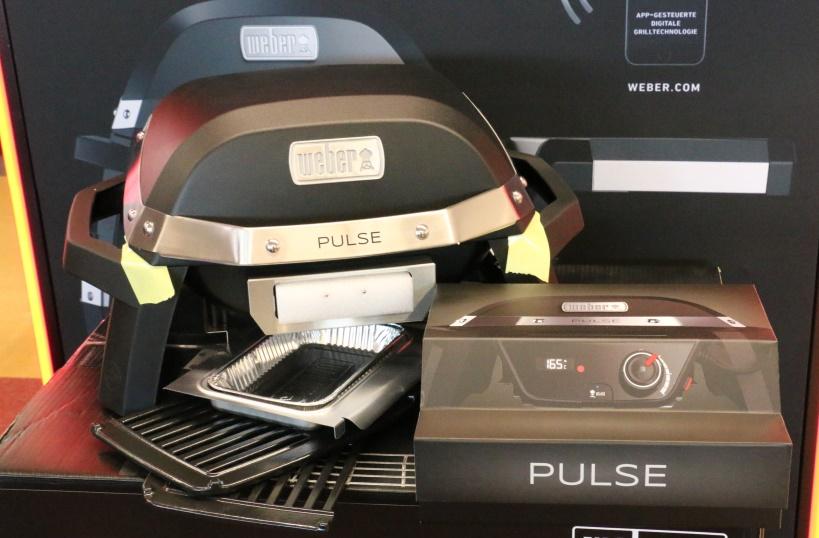 Weber Elektrogrill Pulse Preisvergleich : Aufbau und erster eindruck der neuen weber pulse elektrogrills