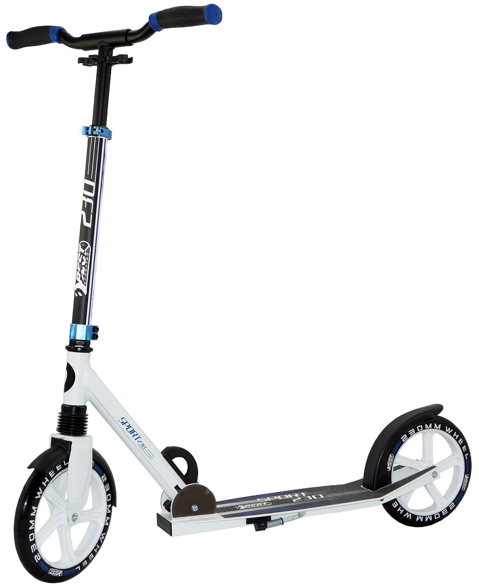 Best Sport Scooter 230 white/blue 30415 | ROLLER + SCOOTER ...